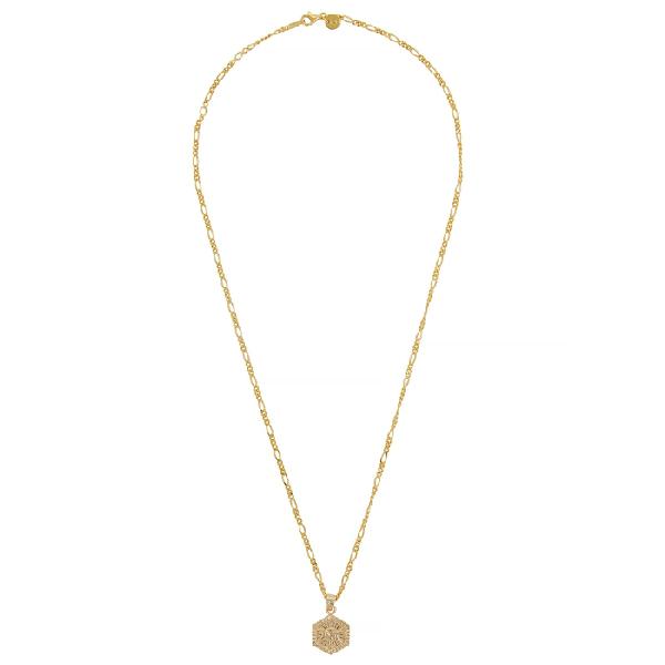 Daisy London X Estée Lalonde Goddess 18kt Gold-plated Necklace