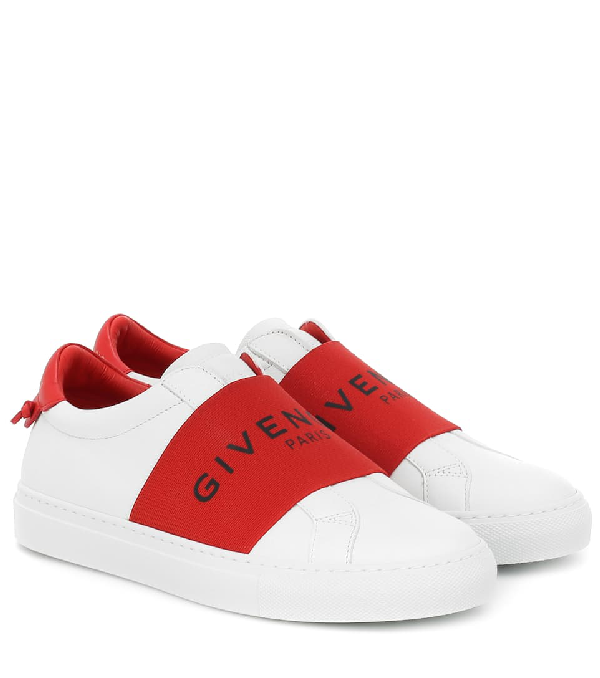 Givenchy Urban Street Sneakers With Logo Elastic Band In 112 Red