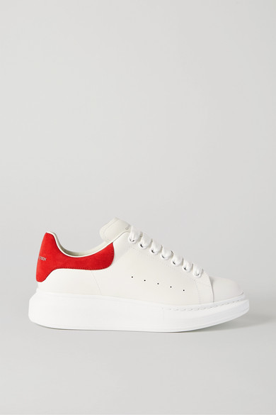 Alexander Mcqueen 553770whgp7 9097 White Coral Leather - 白色 In White