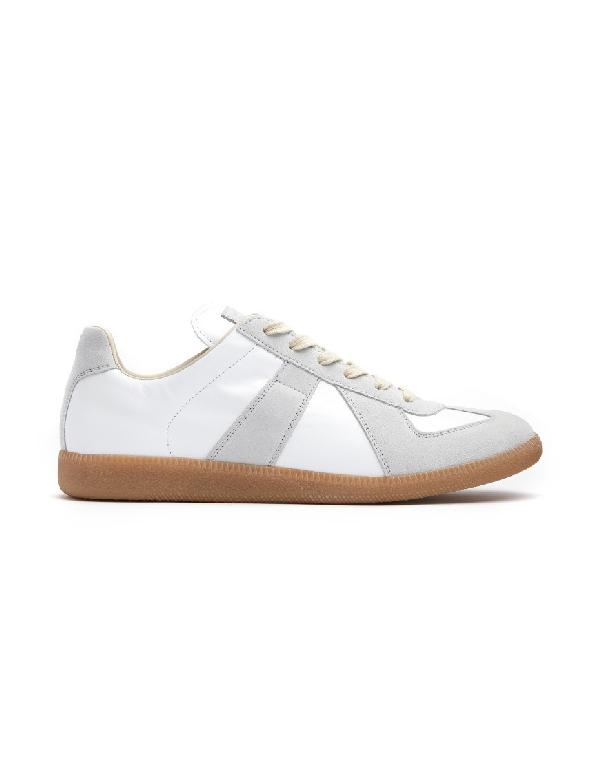 Maison Margiela White Replica Sneakers