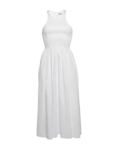 Hopper Midi Dress In White