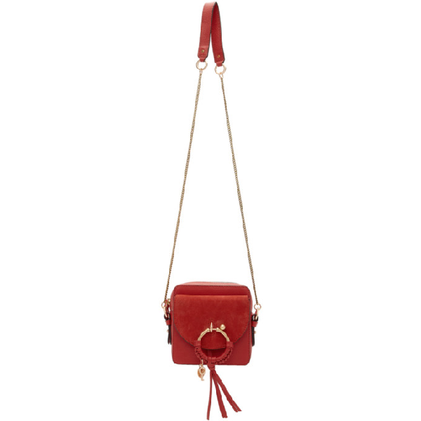 See By ChloÉ See By Chloe Red Joan Camera Bag In 665 Rdntred