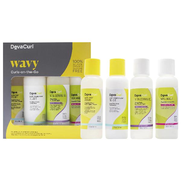 Devacurl Wavy Curls-on-the-go 3 oz X 4/ 88.7 ml