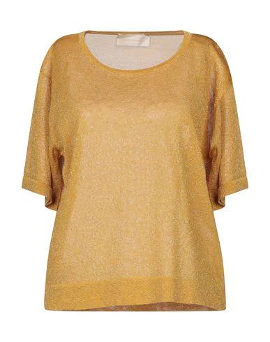 Chiara Bertani Sweater In Ocher