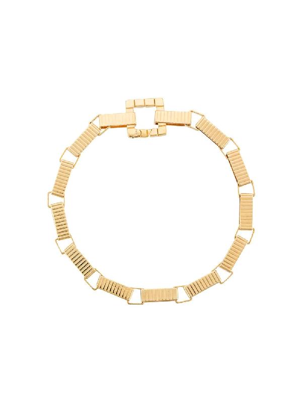 I.v.i. Signore 5 Chain Bracelet In Gold