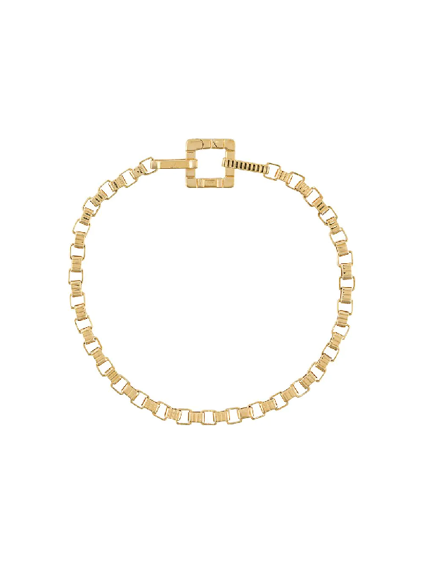I.v.i. Signore 3x3 Chain Bracelet In Gold