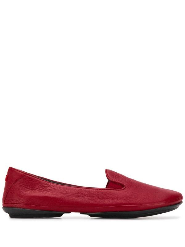 Camper Nina Ballerina Shoes In Red