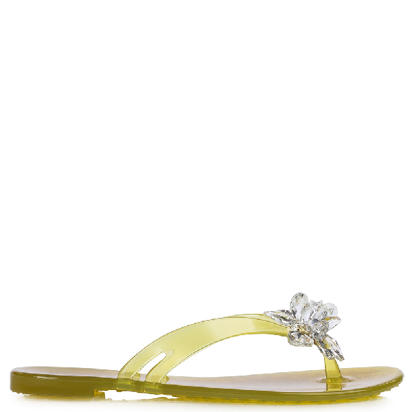 Le Silla Eris Flip Flop In Lemon