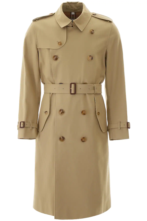 Burberry The Mid-length Kensington Heritage Trench Coat In Neutrals