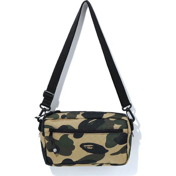 Bape 1st Camo Cordura Mini Shoulder Bag (m) Yellow