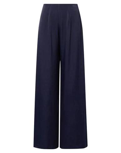 Les HÉroÏnes By Vanessa Cocchiaro Casual Pants In Dark Blue