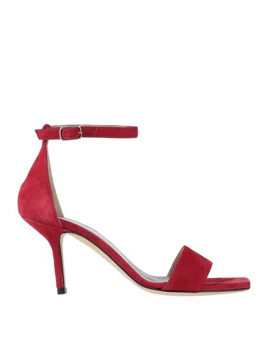 Cheville Sandals In Red
