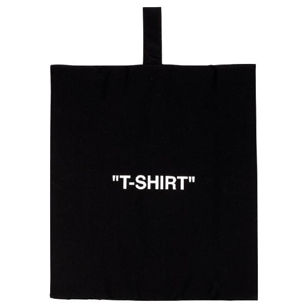 Off-white T-shirt Pouch Black/white