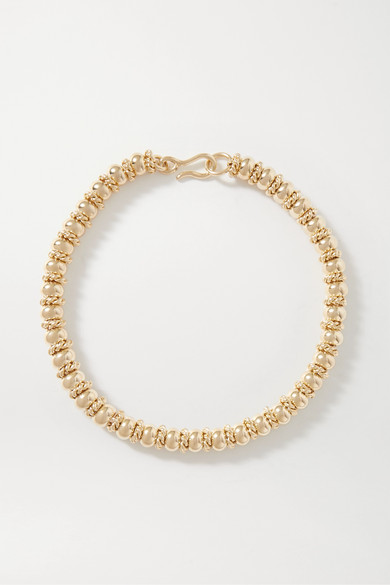 Laura Lombardi Net Sustain Serena Gold-plated Necklace