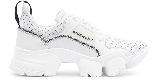 Givenchy Jaw Low Sneakers In White Leather