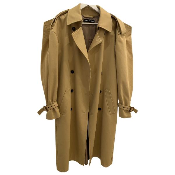 Y/project Camel Cotton Coat