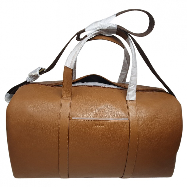 Fossil Brown Leather Bag