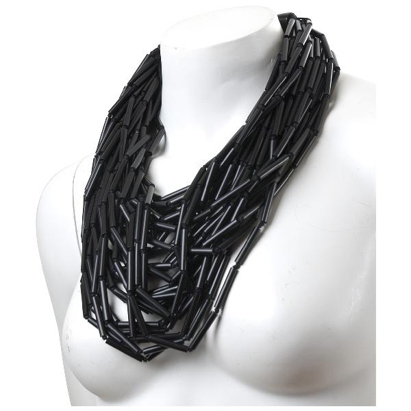 Monies Black Horn Necklace