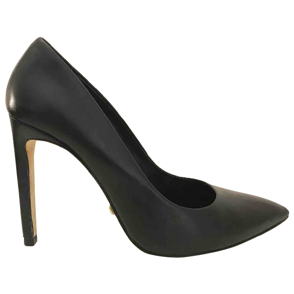 Tiger Of Sweden Black Leather Heels