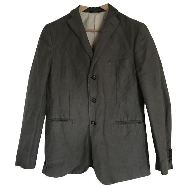 Tonello Grey Cotton Jacket