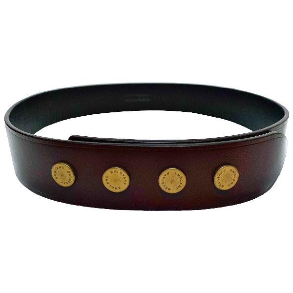 Belstaff Brown Leather Belt