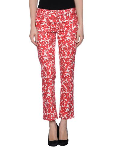 Tory Burch Casual Pants In Red