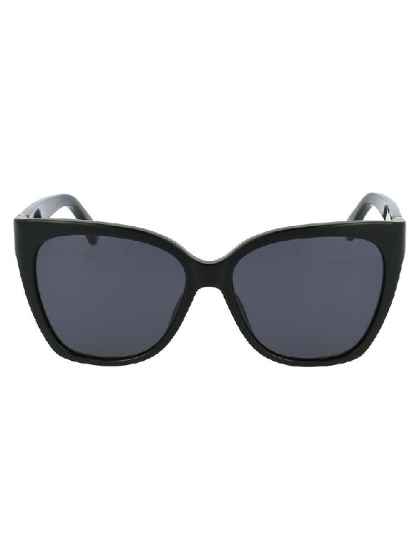 Moschino Eyewear Square Frame Sunglasses In Black