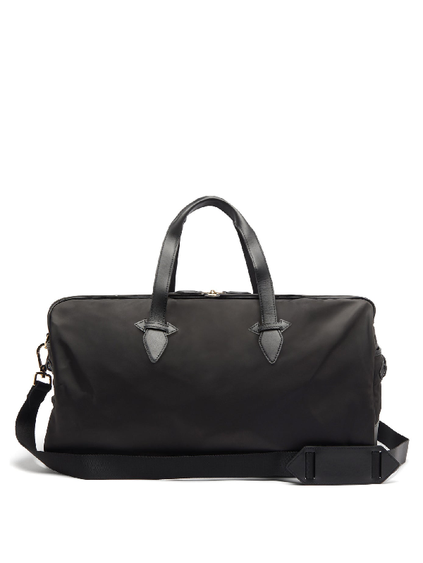 Paravel Grand Tour Technical-canvas Holdall In Black