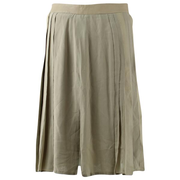 Belstaff Beige Silk Skirt