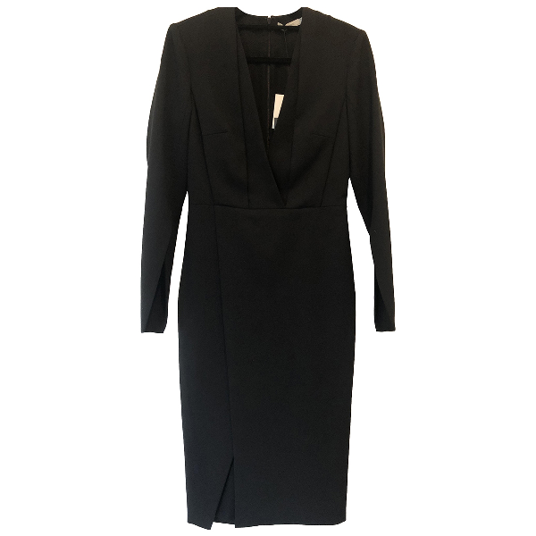 Protagonist Black Cotton Dress