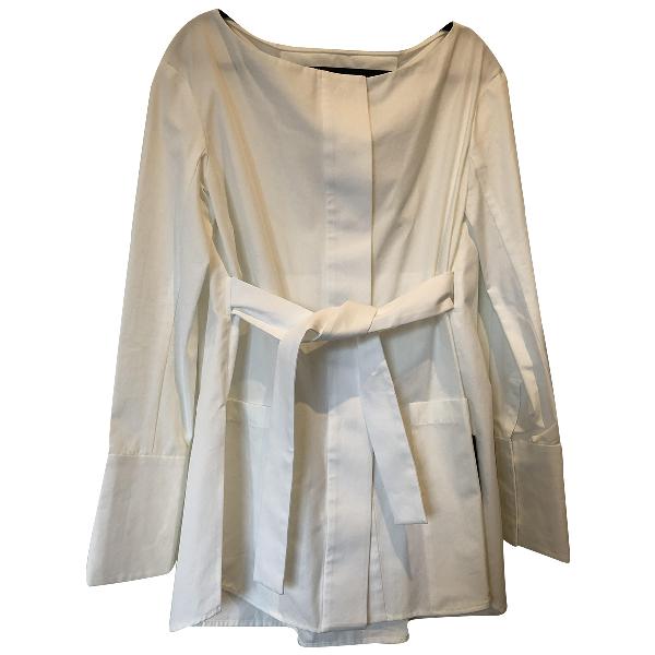 Protagonist White Cotton  Top