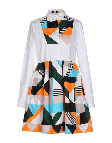Msgm Short Dresses In White