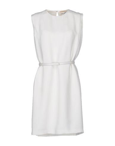 Saint Laurent Short Dresses In White