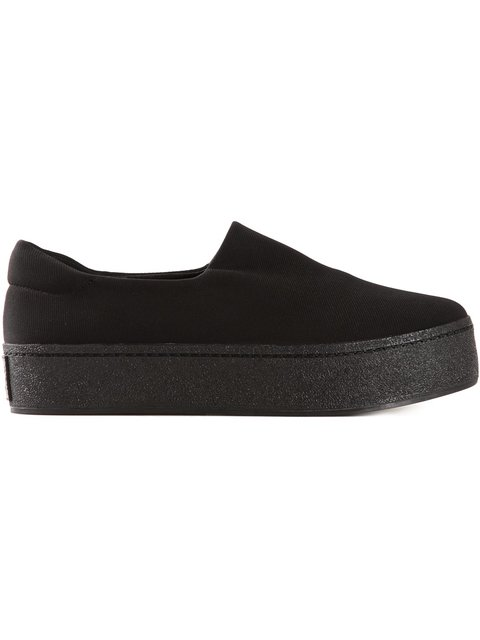 Opening Ceremony Women's Cici Platform Slip-on Sneakers In Black