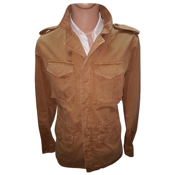 Museum Brown Cotton Jacket