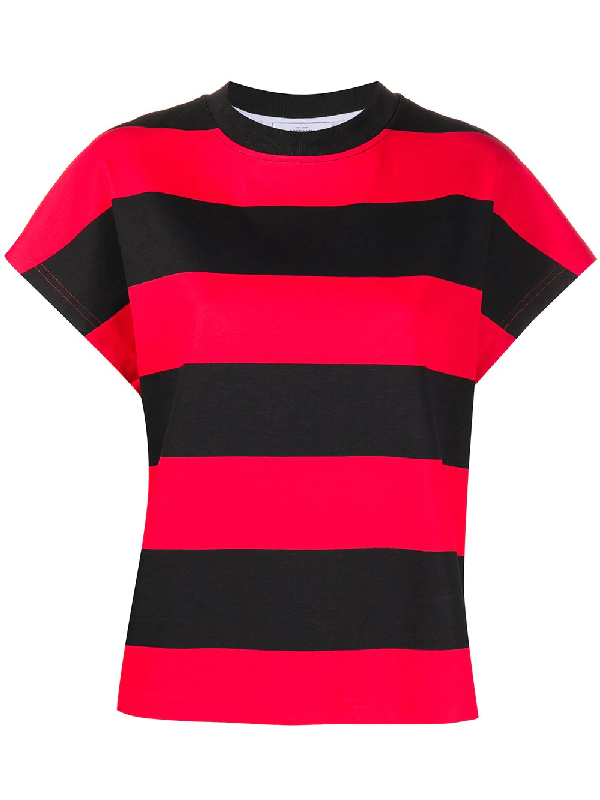 Roseanna Rugby Red Striped T-shirt