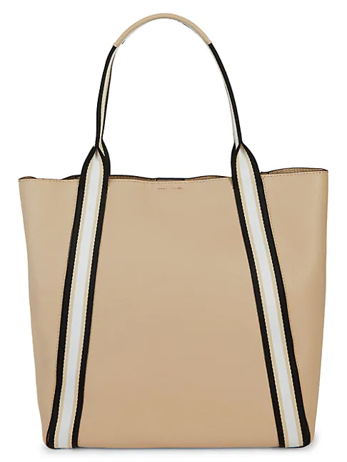 Botkier Trinity Leather Tote In Fawn