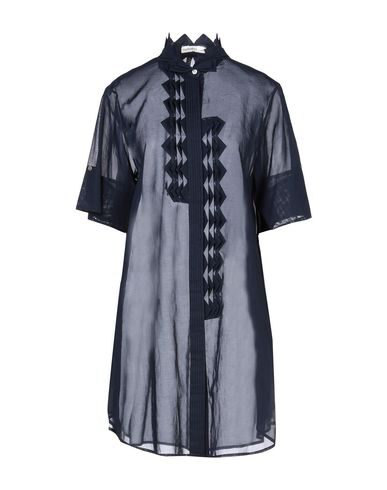 Tsumori Chisato Shirt Dress In Dark Blue