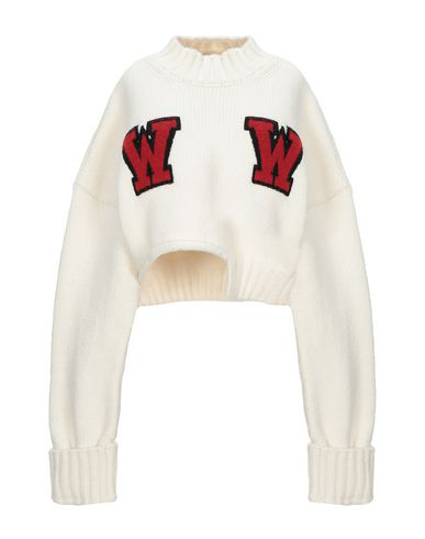Off-white Turtleneck In Ivory