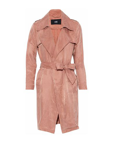 Line Full-length Jacket In Pastel Pink