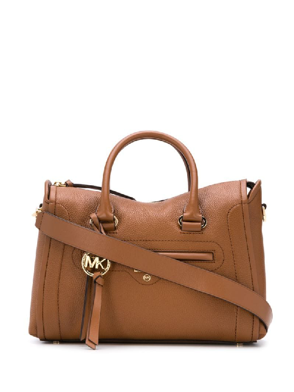 Michael Michael Kors Carine Tote In Brown