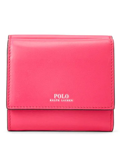 Polo Ralph Lauren Wallet In Fuchsia