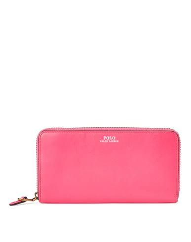 Polo Ralph Lauren Wallet In Fuchsia