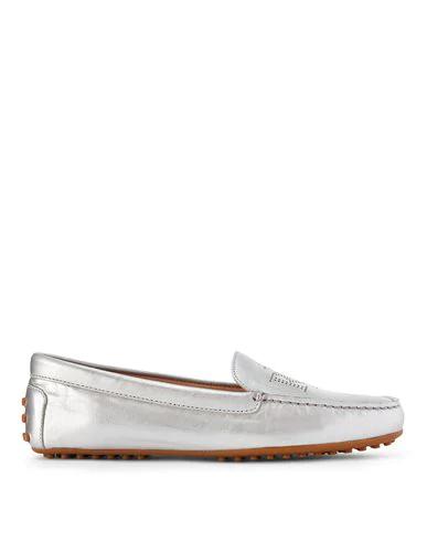 Lauren Ralph Lauren Loafers In Silver