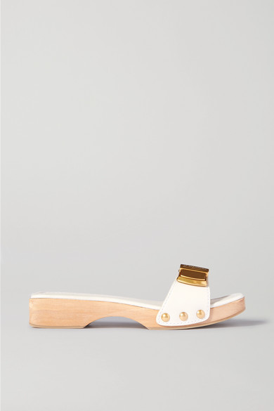 Jacquemus Les Sandales Tatanes Leather Sandals In White
