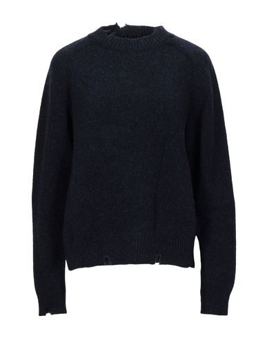 Maison Margiela Sweater In Dark Blue