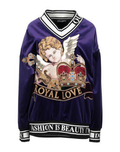 Dolce & Gabbana Sweatshirt In Purple