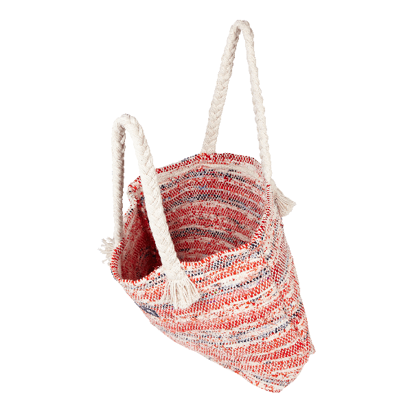 Vilebrequin Large Beach Bag Eco-friendly In Red