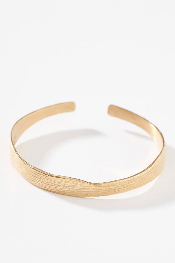 Serefina Aurelia Cuff Bracelet By  In Yellow Size All