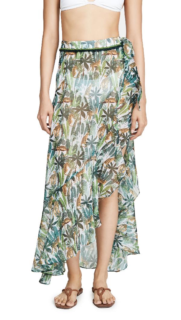 Playa Lucila Tropical Sarong Skirt